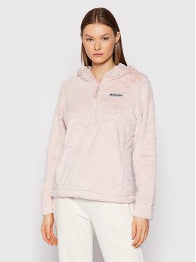 Columbia Columbia Kurtka anorak Bundle Up™ Hooded Fleece 1958811 Różowy Regular Fit
