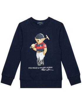 Polo Ralph Lauren Polo Ralph Lauren Bluză Ls Cn 323836596001 Bleumarin Regular Fit