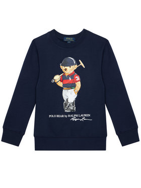 Polo Ralph Lauren Polo Ralph Lauren Μπλούζα Ls Cn 323836596001 Σκούρο μπλε Regular Fit