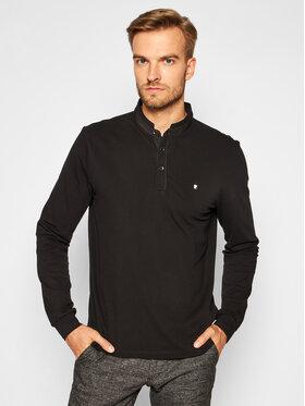 Pierre Cardin Pierre Cardin Polo marškinėliai 53354/000/2324 Juoda Modern Fit