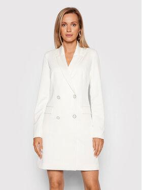 Guess Guess Ежедневна рокля Emmanuela W1BK02 W5D20 Бял Slim Fit
