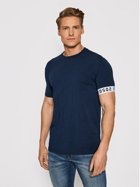 Dsquared2 Underwear Dsquared2 Underwear T-shirt D9M3S3450.40214 Blu scuro Slim Fit