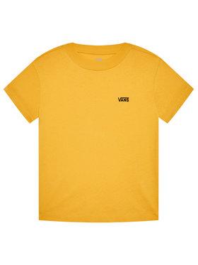 Vans Vans Marškinėliai Junior V Boxy VN0A4MFL Geltona Regular Fit