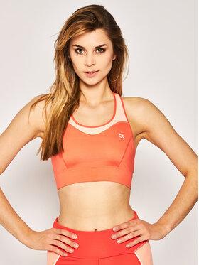 Calvin Klein Performance Calvin Klein Performance Biustonosz top High Support Sports Bra 00GWS0K124 Pomarańczowy