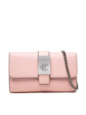 Calvin Klein Jeans Calvin Klein Jeans Torebka Mono Hardw Soft Phone Xbody K60K608686 Różowy