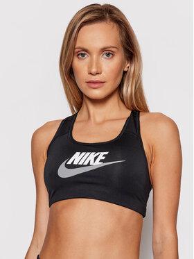 Nike Nike Sportovní podprsenka Dri-FIT Swoosh DM0579 Černá