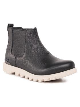 Sorel Sorel Členková obuv s elastickým prvkom Kezar™ Chelsea Wp NM3942-010 Čierna