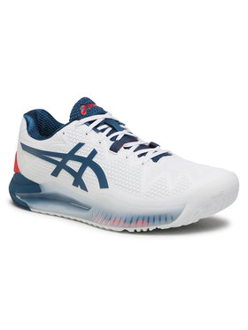 Asics Asics Chaussures Gel-Resolution 8 1041A079 Blanc