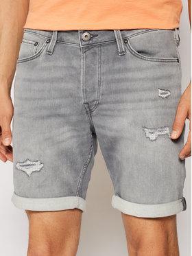 Jack&Jones Jack&Jones Pantaloni scurți de blugi Rick 12182945 Gri Regular Fit
