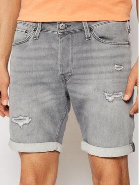 Jack&Jones Jack&Jones Szorty jeansowe Rick 12182945 Szary Regular Fit