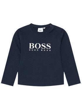Boss Boss Blúz J05P10 M Sötétkék Regular Fit