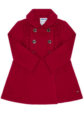 Mayoral Mayoral Cappotto 4409 Rosso Regular Fit