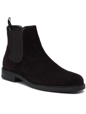 Calvin Klein Calvin Klein Kotníková obuv s elastickým prvkem Fintan B4F1146 Hnědá