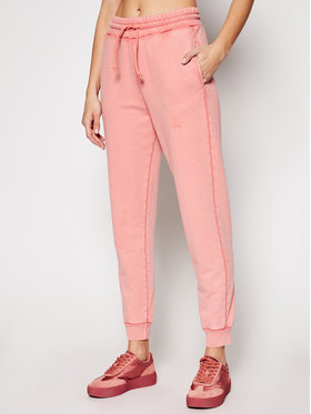 Pinko Pinko Teplákové nohavice Carico PE 21 BLK01 1G1638 Y72Z Ružová Regular Fit