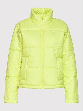 adidas adidas Kurtka puchowa Short H20214 Żółty Regular Fit