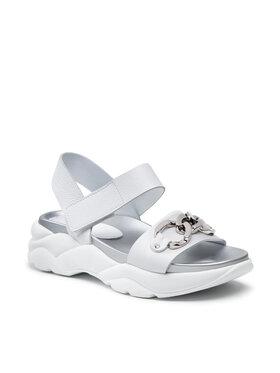 Nessi Nessi Sandále 21011 Biela