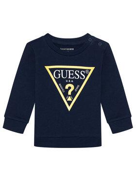 Guess Guess Bluză N73Q10 KAUG0 Bleumarin Regular Fit