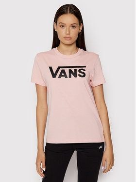 Vans Vans Футболка Wm Flying V Crew Tee VN0A3UP4 Рожевий Regular Fit