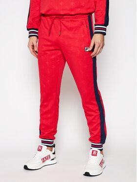 Fila Fila Teplákové kalhoty Hank 687878 Červená Regular Fit