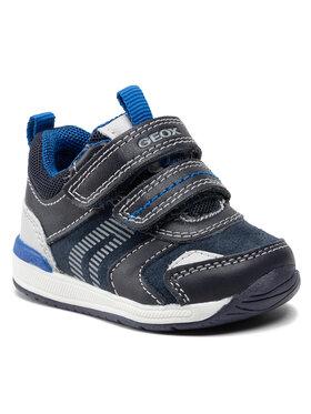 Geox Geox Sneakersy B Rishon B. B B150RB 022BC C4475 Granatowy