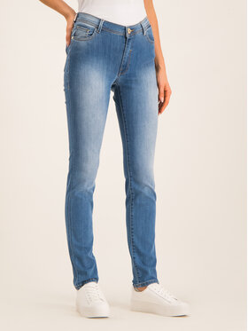 Trussardi Jeans Trussardi Jeans jeansy_skinny_fit Kate Royal 56J00005 Tamsiai mėlyna Slim Fit