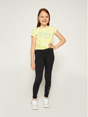 Guess Guess Leggings J71B61 K4UK0 Crna Slim Fit