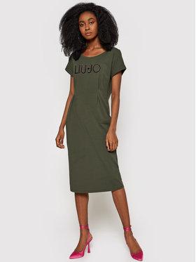 Liu Jo Sport Liu Jo Sport Φόρεμα καθημερινό TA1027 J5756 Πράσινο Regular Fit