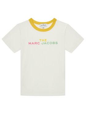 Little Marc Jacobs Little Marc Jacobs T-Shirt W15581 M Biały Regular Fit