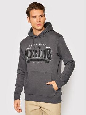 Jack&Jones Jack&Jones Bluză Logo 12189736 Gri Regular Fit