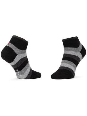 TOMMY HILFIGER TOMMY HILFIGER Sada 2 párů dětských nízkých ponožek 354010001 Černá