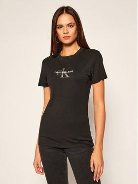 Calvin Klein Jeans Calvin Klein Jeans Póló J20J214787 Fekete Slim Fit