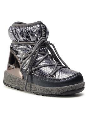 Moon Boot Moon Boot Hótaposó Jrgirl Low Nylon Premium Wp 34052300002 M Ezüst