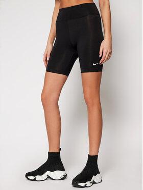 NIKE NIKE Sportshorts Leg-A-See CJ2661 Schwarz Tight Fit