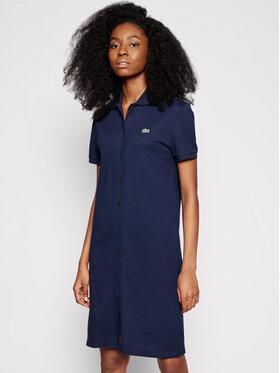 Lacoste Lacoste Kasdieninė suknelė EF5468 Tamsiai mėlyna Regular Fit