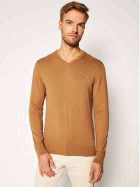 TOMMY HILFIGER TOMMY HILFIGER Sweater Pima MW0MW11673 Barna Regular Fit