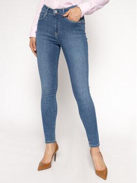 Pepe Jeans Pepe Jeans Skinny Fit džíny Zoe PL203616H Tmavomodrá Skinny Fit