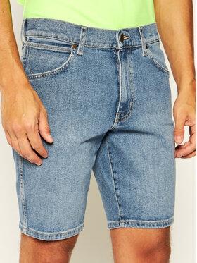Wrangler Wrangler Szorty jeansowe 5 Pocket W14CKP34F Granatowy Regular Fit
