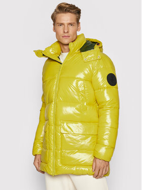 Save The Duck Save The Duck Giubbotto piumino D40292M LUCK13 Giallo Regular Fit