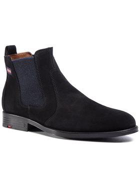 Lloyd Lloyd Kotníková obuv s elastickým prvkem 29-558-20 Černá