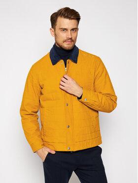 Converse Converse Giacca di jeans Saffron 10019460-A04 Giallo Regular Fit