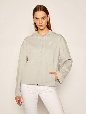 NIKE NIKE Sweatshirt Sportswear CJ3752 Grau Loose Fit