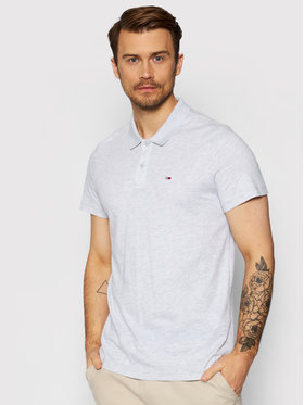 Tommy Jeans Tommy Jeans Polo Essential DM0DM10322 Szary Regular Fit