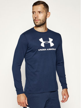 Under Armour Under Armour Longsleeve Sportstyle Logo 1329283 Σκούρο μπλε Regular Fit