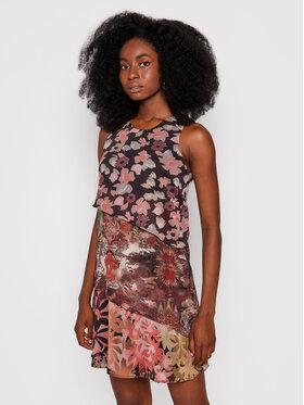 Desigual Desigual Sukienka codzienna MONSIEUR CHRISTIAN LACROIX Dalia 21WWVW68 Różowy Regular Fit