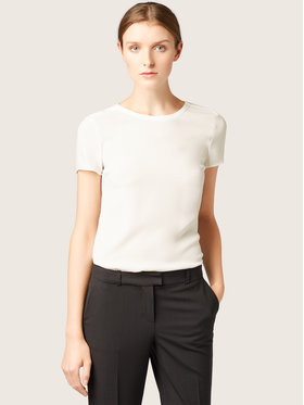 Boss Boss Blusa Ilyna 50291057 Bianco Regular Fit