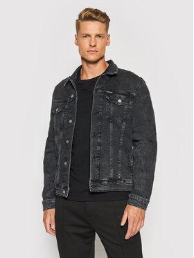 Calvin Klein Jeans Calvin Klein Jeans Džinsinė striukė J30J319123 Juoda Slim Fit