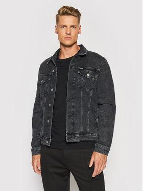 Calvin Klein Jeans Calvin Klein Jeans Džínsová bunda J30J319123 Čierna Slim Fit