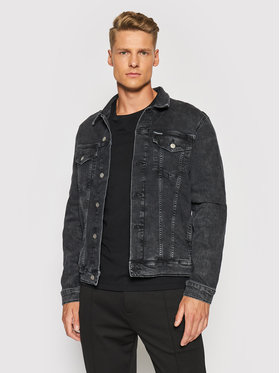 Calvin Klein Jeans Calvin Klein Jeans Traper jakna J30J319123 Crna Slim Fit