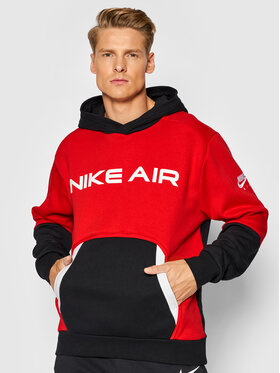 Nike Nike Суитшърт Air Pullover DA0212 Червен Standard Fit