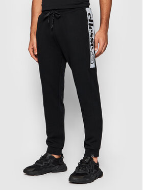 Ellesse Ellesse Spodnie dresowe Pleiadies SHK12790 Czarny Regular Fit